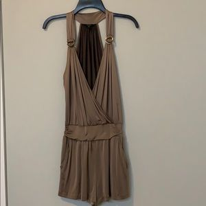 Guess Taupe Romper